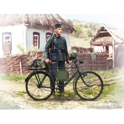 MB35171 German Soldier Bicyclist'39-42 1/35