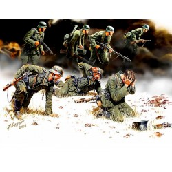 MB3518 MB German Panzergrenadiers (7) 1/35