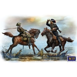 MB35184 British & German Cavalry WWI 1/35
