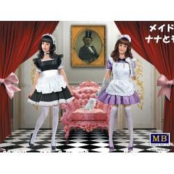 MB35186 Maid café girls Nana & Momoko 1/35
