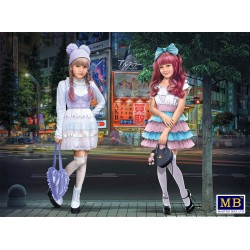MB35187 Kawaii Fashion Lead Minami&Mai 1/35