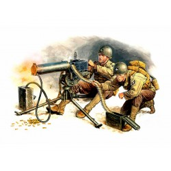 MB3519 MB US Machine Gun Team 1/35