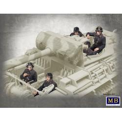 MB35201 Équipage de chars allemand, 1944-1945 1/35