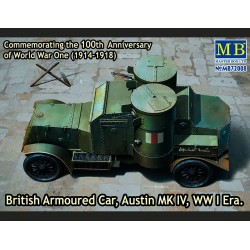 MB72008 Brit. Arm. Car Austin MkIV 1/72