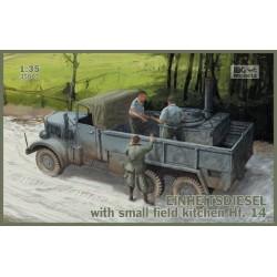 IBG35007 Einheitsdiesel small kitchen 1/35