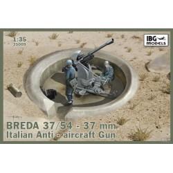 IBG35009 Breda 37-54 37mm Italian Gun 1/35