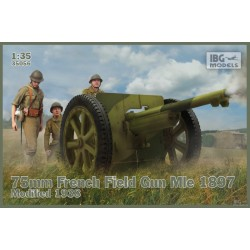 IBG35056 75mm French Field Mle 1897 '38 1/35
