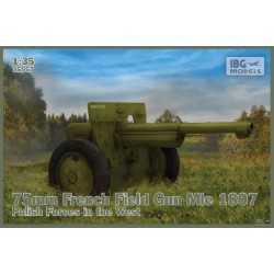 IBG35057 75mm French Field Mle 1897 Pol.1/35