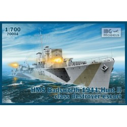 IBG70004 HMS Badsworth'41Hunt II Dest. 1/700