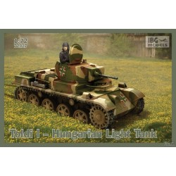 IBG72027 Toldi I Hungarian Light Tank 1/72