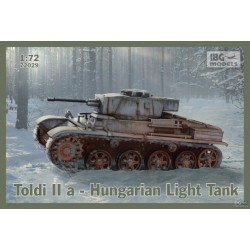 IBG72029 Toldi IIa Hungarian Light Tank 1/72