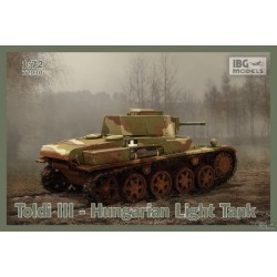 IBG72030 Toldi III Hungarian Light Tank 1/72