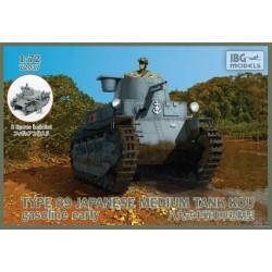 IBG72037 Type89 Jap.Med.Tank KOU Gasol. 1/72