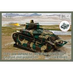 IBG72038 Type89 Jap.Med.Tank KOU Gasol. 1/72