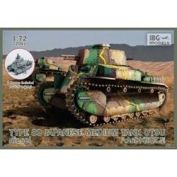 IBG72041 Type89 Jap.Med.Tank OTSU Diesel1/72