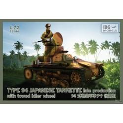 IBG72044 Type94 Jap.Tankette Late prod. 1/72