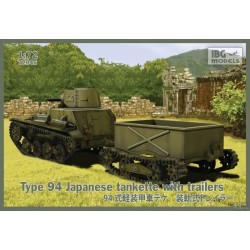 IBG72045 Type94 Jap.Tankette with trail.1/72