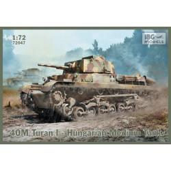 IBG72047 40M Turan I Hugarian Med.Tank 1/72