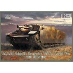 IBG72052 43M Zrinyi II Hung.& Sidekirts 1/72