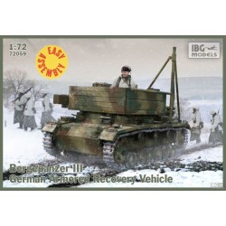 IBG72059 Bergepanzer III (Easy Ass. Kit)1/72