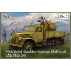 IBG72075 V3000SM Maultier Half & Flak38 1/72
