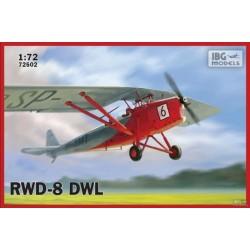 IBG72502 RWD8 PWS Pol.Trainer Plane Civ.1/72