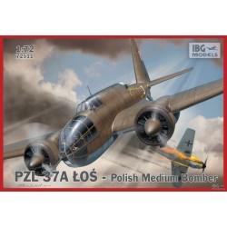 IBG72511 PZL 37 A Los Polish Med Bomber 1/72