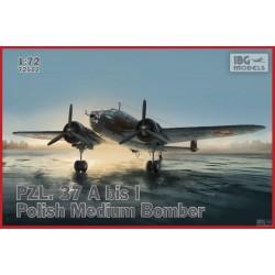 IBG72512 PZL37 Abis Polish Bomber Plane 1/72