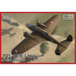 IBG72514 PZL 37 B Los Polish Med Bomber 1/72