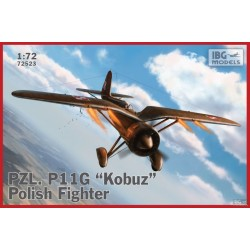 IBG72523 PZL P11g Kobuz Polish Fighter 1/72