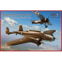IBG72528 September Sky 1939 - 2 in 1 - PZL37B & P11a 1/72