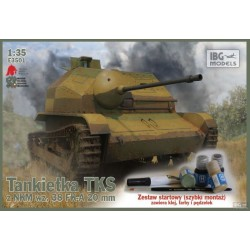 IBGE3501 TKS Tankette & paints,brush... 1/35