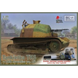 IBGE3502 TKS Tankette & paints,brush... 1/35