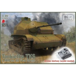 IBGE3503 TKS Tankette with 20mm Gun 1/35