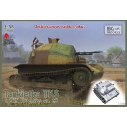 IBGE3504 TKS Tankette & Quick tracks 1/35