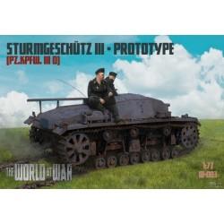 IBGWAW003 Sturmgeschutz III Prototype 1/72