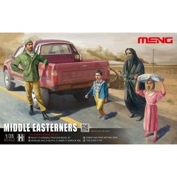 HS-001 Middle Easterns in the Street