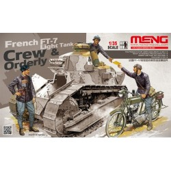 HS-005 French FT-17 Light Tank Crew & Orderly