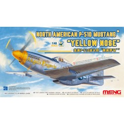 "LS-009 North American P-51D Mustang""Yelloe Nose"