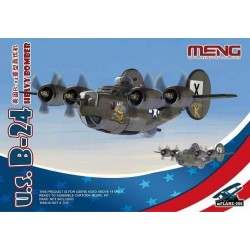 MPLANE-006 U.S. B-24 Heavy Bomber (Cartoon Model)