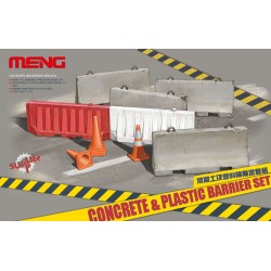 SPS-012 Concrete & plastic barrier set