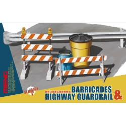 SPS-013 Barricades & Highway Guardrail