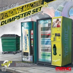 SPS-018 Vending Machine & Dumster Set