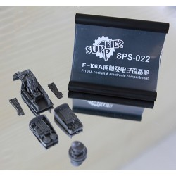 SPS-022 F-106A Cockpit & Electronic Compartment (Resin)