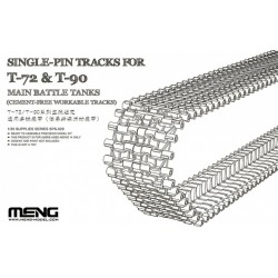 SPS-029 Single-Pin Tracks for T-72 & T-90 Main Battle Tanks(Cement-Free workable