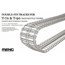 SPS-030 Double-Pin Tracks for T-72 & T-90 Main Battle Tanks(Cement-Free Worka