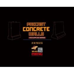 SPS-031 Precast Concrete Walls (resin)