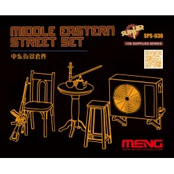 SPS-036 Middle Eastern Street Set (Resin)