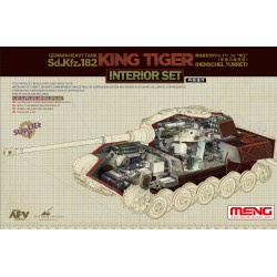 SPS-037 German Heavy Tank Sd.Kfz.182 King Tiger (Henschel Turret)Interior Set
