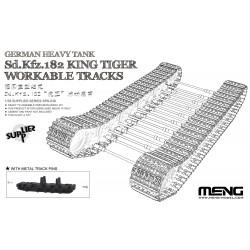 SPS-038 German Heavy Tank Sd.Kfz.182 King Tiger Workable Tracks